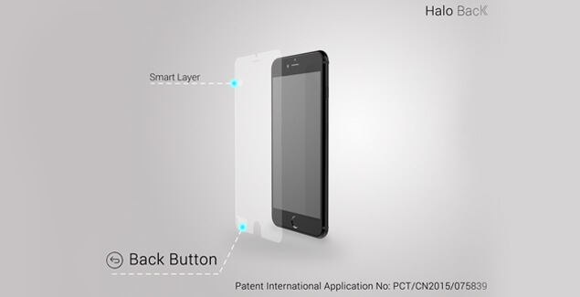 halo back button iphone 6