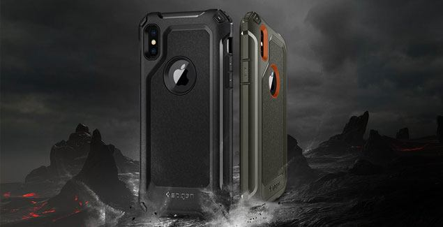 spigen pro guard iphone x